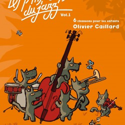Recueil Chantons Ptits Loups Du Jazz - Chansons jazz pour enfants