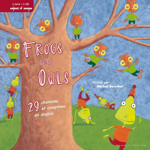 Livre-Disque Frogs And Owls