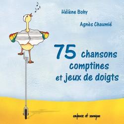 75 chansons, comptines et jeux de doigts pour bébé et maman
