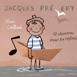 Jacques Prévert - 12 chansons pour enfants (pas de parties instrumentales dans le CD)